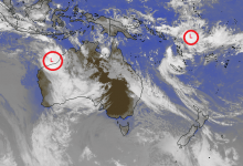 تصویر The tropical system is activated towards Australia